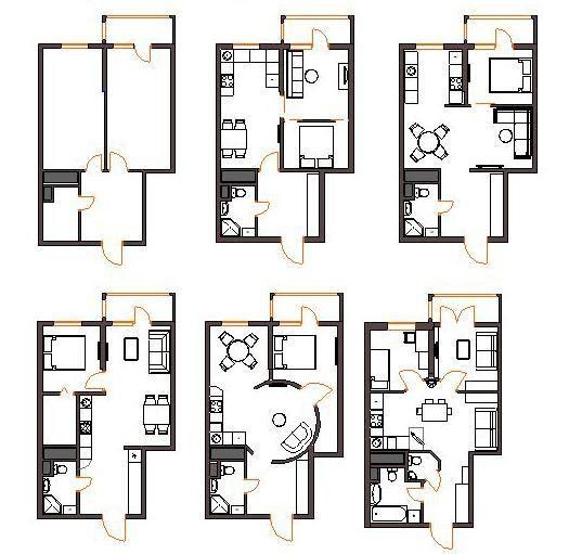Дизайн квартиры серии и-209а