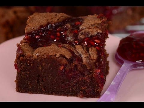 Chocolate Raspberry Brownies | Yummy Food and Drinks | Pinterest