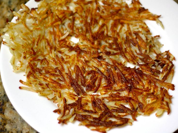 More like this: hash browns and brown .