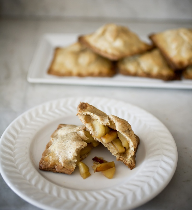 Mapled Apple Hand Pies In a Brown Butter and Smoked Almond Crust by A ...