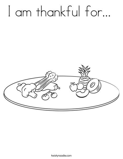 i am thankful for you coloring pages - photo #18