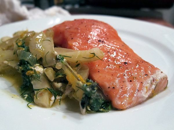 Salmon with Fennel and Orange | Entrees | Pinterest