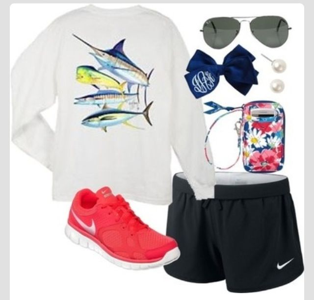 cute nike outfit clothing pinterest