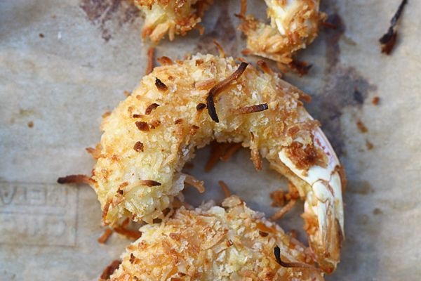 Baked Coconut Shrimp with Spicy Honey Drizzle from A Cozy Kitchen ...
