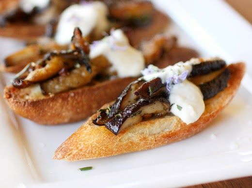 soup creamy mushroom soup wild mushroom soup with blue cheese toasts ...