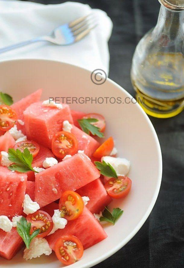 Wonderful Watermelon Salad | Veg & salads | Pinterest