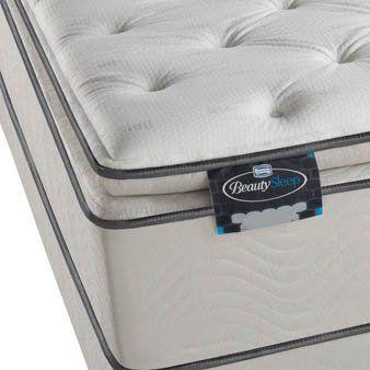 Simmons Beautysleep Rossi Plush Pillow Top Mattress Bed