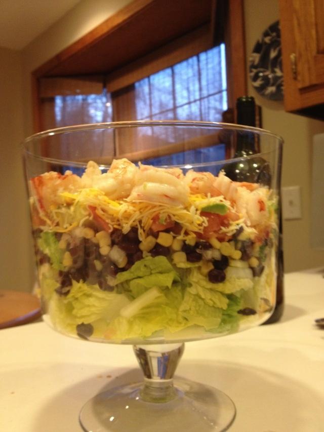 Mexican Shrimp Cobb Salad   Food -Mexican   Pinterest
