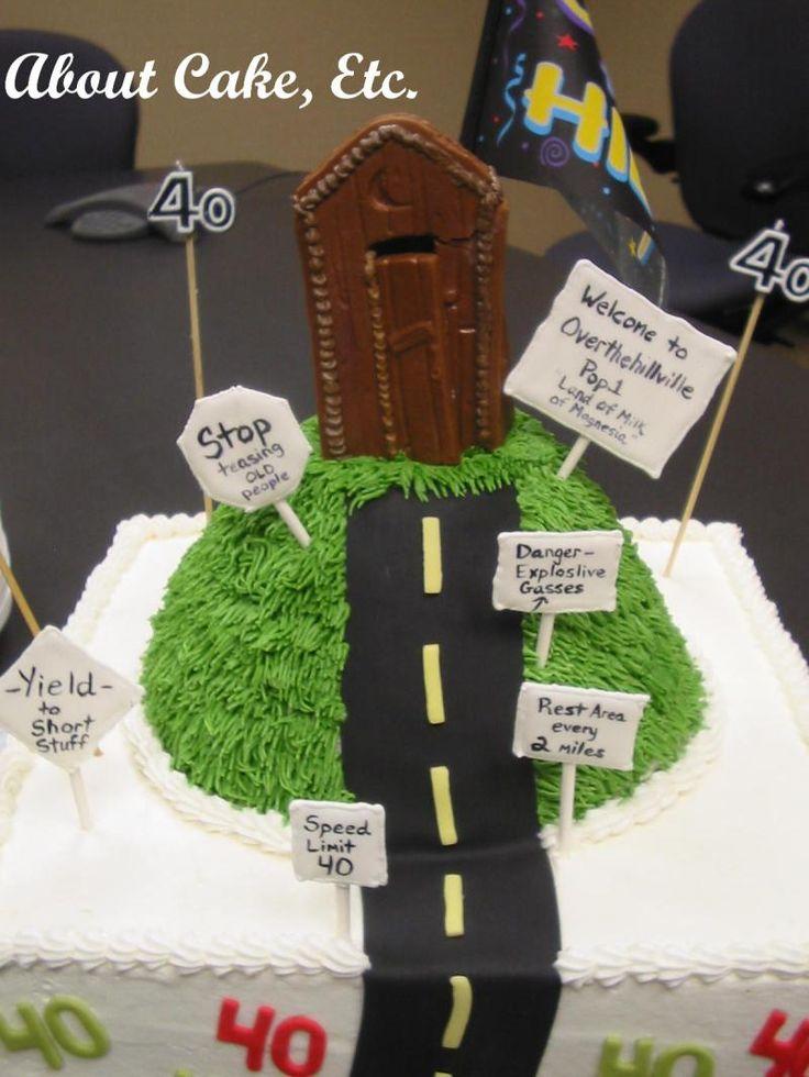 Over 18 Birthday Cake Ideas 24825 Over The Hill Cake Ideas