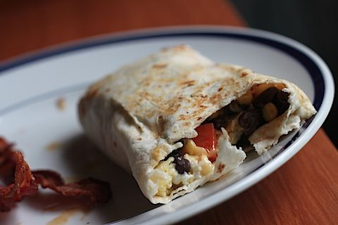 Breakfast Burrito inspiration...