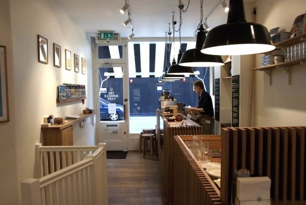 The Monocle Cafe, London | let's go check out this coffee shop! | Pin ...