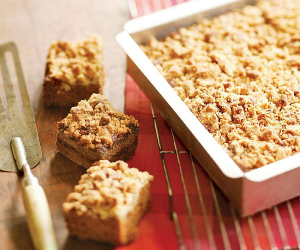 Sweet Potato Spice Cake with Fresh Ginger & Pecan Streusel Topping by ...