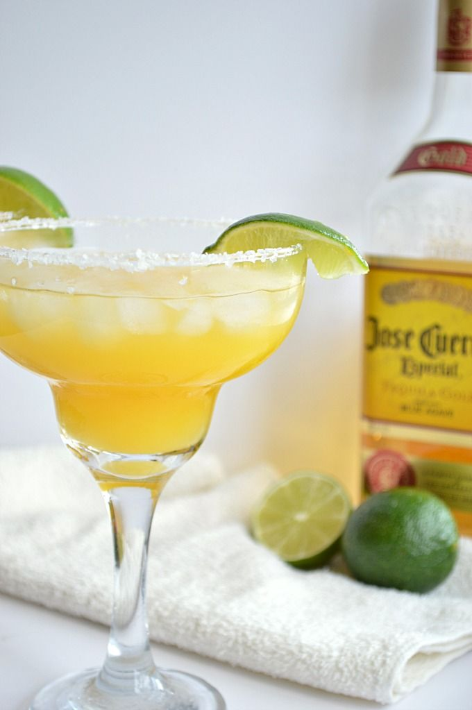 Mango Margarita! Cold refreshing and super simple to make!