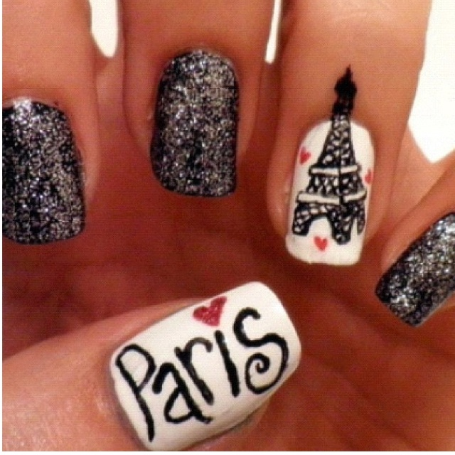 Nail Art Design Paris : Paris nails nail art
