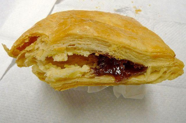 fillings include cream cheese, guava (pastelito de guayaba) and cheese ...