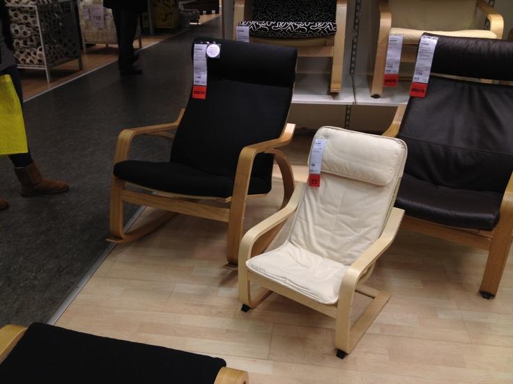 Ikea Unterschrank Ausziehbar ~ for a nursery mum & toddler matching chairs Ikea Poang rocking chair