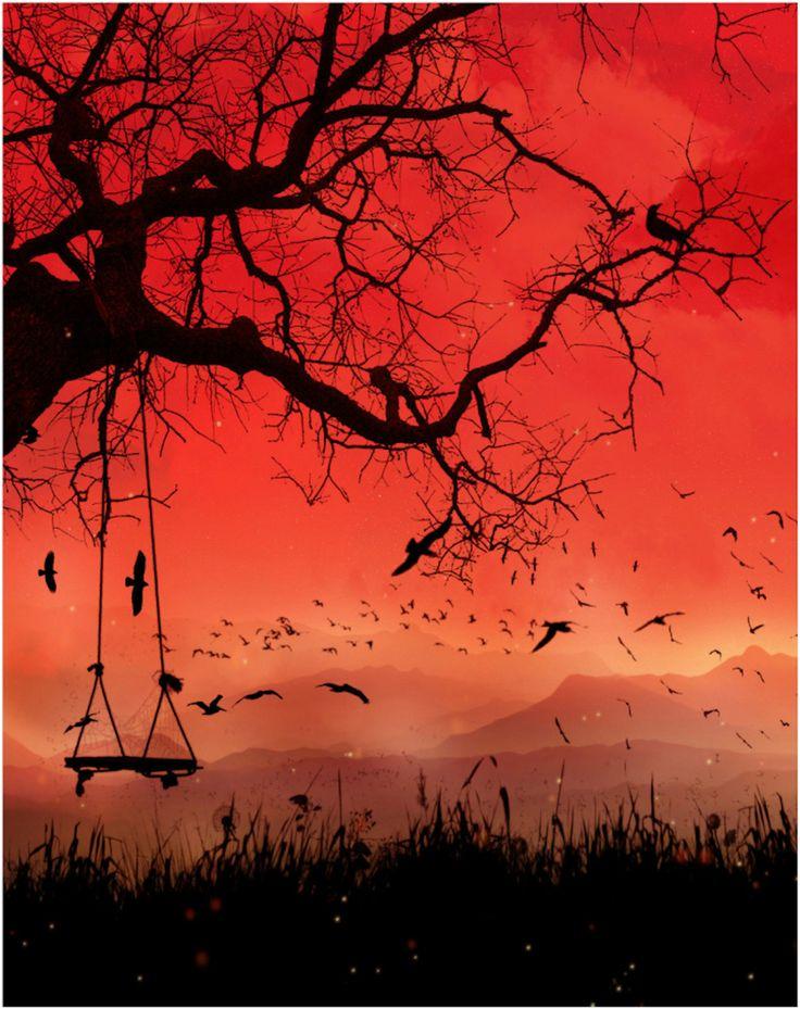 Tree Swing Silhouette ...