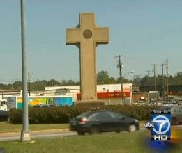 This historic cross was erected to honor fallen wwi soldiers but now