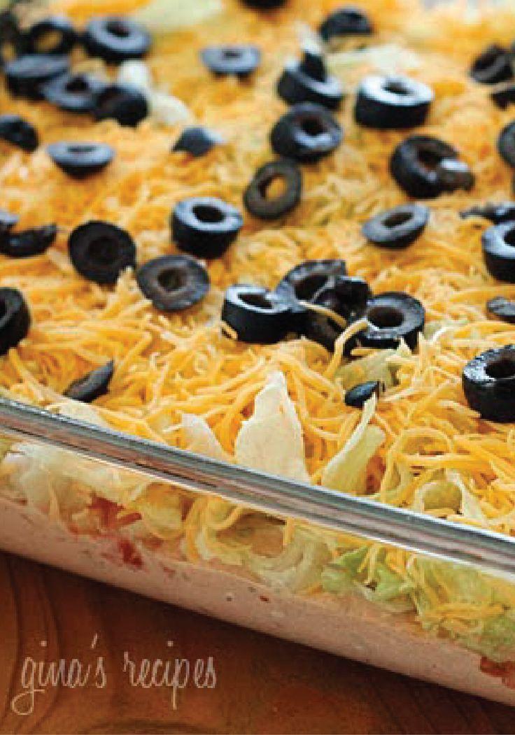 Skinny Taco Dip | Recipe