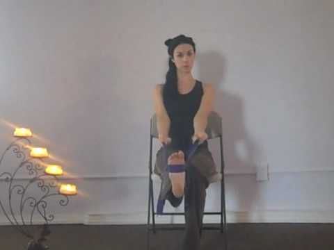 How to Chair Yoga video Yoga