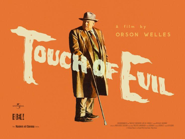 "touch Of Evil"" movie poster | Type Specimens | Pinterest"