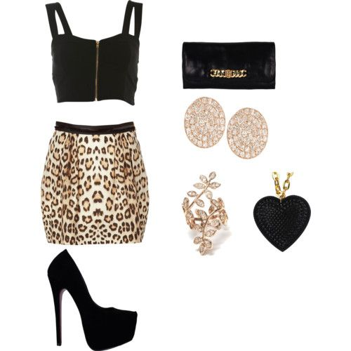 Cute Club Outfits Polyvore 100