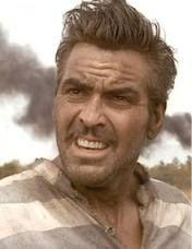 o brother where art thou george clooney hair  George Clooney ak...