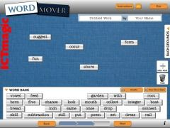 This is a superb virtual word wall. Get a set of words from different sources or start from scratch and add your own.