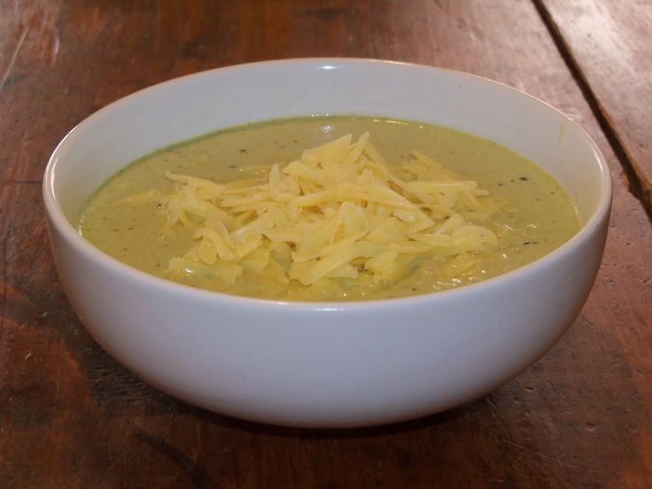 Broccoli Cheddar Soup | Soups ~ Hot or Cold | Pinterest