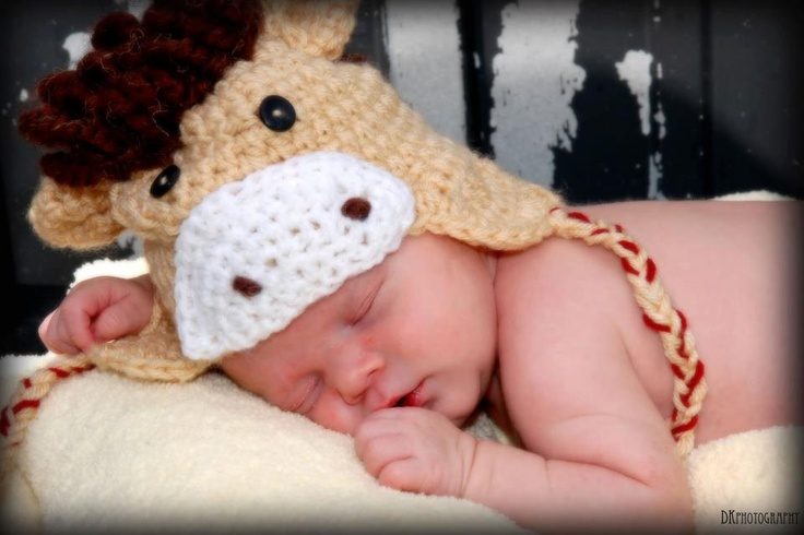 Free Crochet Pattern Baby Horse Hat Traitoro For