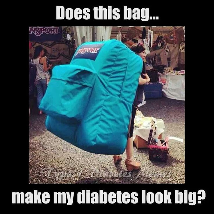 Does this bag make my diabetes look BIG!!!?
