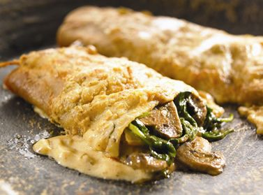 Mushroom and spinach enchiladas | Dinner | Pinterest
