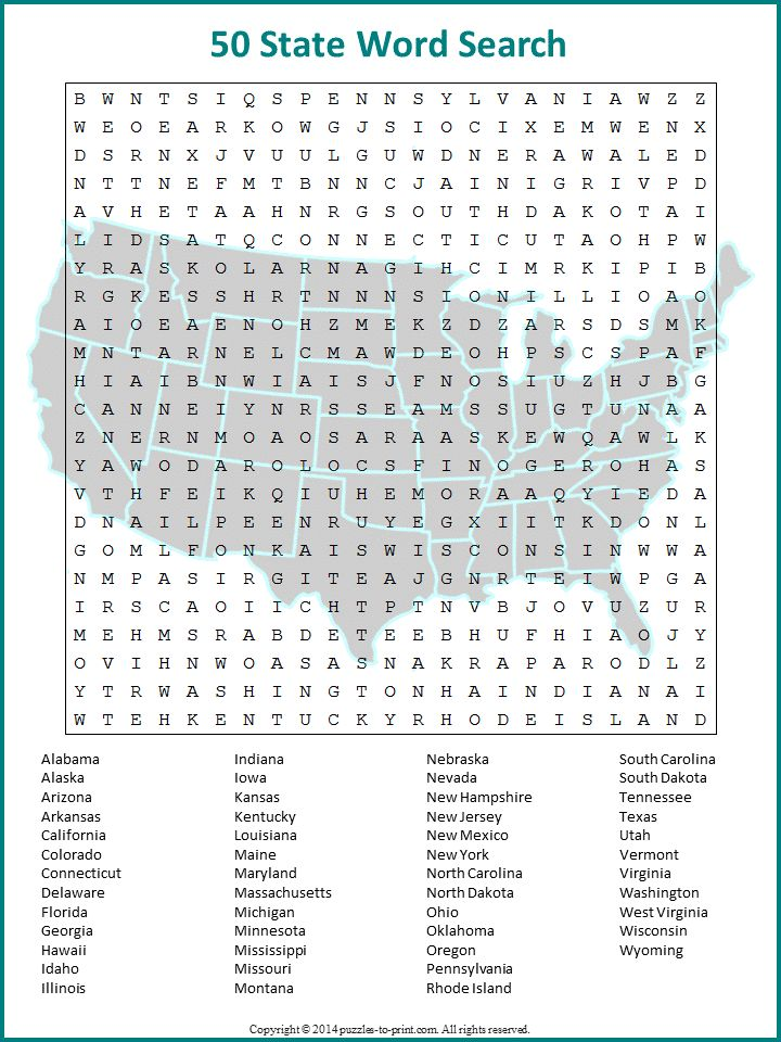 It's just a photo of Clean Wordsearch Free Printable