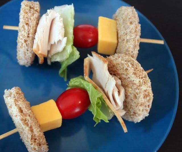 sandwich on a stick! | Food on a Stick | Pinterest