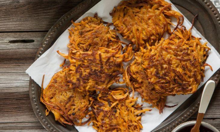 Sweet Potato Latkes | Recipe