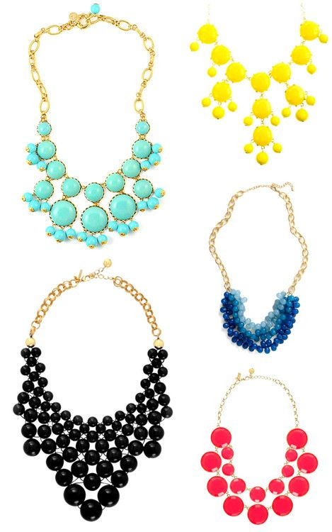 Obsessed with statement necklaces