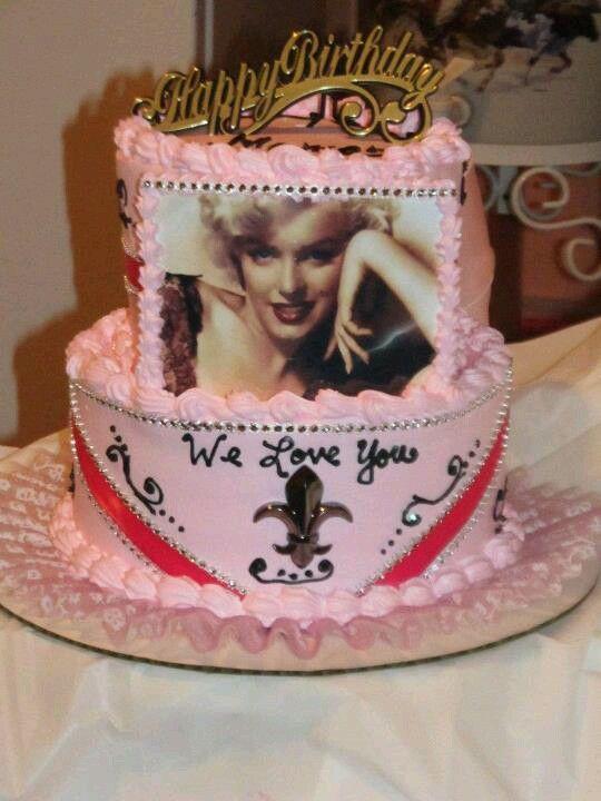 marilyn monroe cake designs