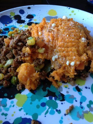 Turkey Sweet Potato Shepard's Pie | Food! | Pinterest