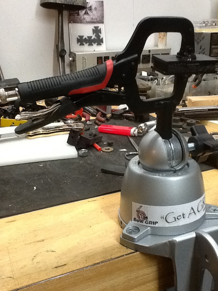 New bow vise the Bow Grip | Archery tools | Pinterest