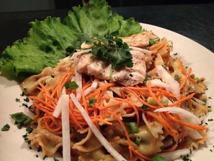 Spicy Thai Peanut Pasta Salad. If you like, you could add some ...