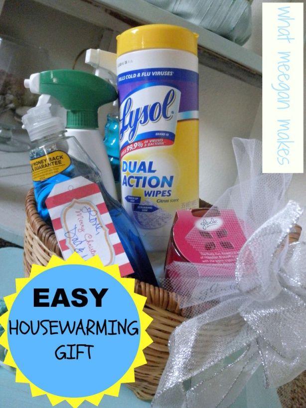 Easy Housewarming Gift Meeganmakes Party Ideas Pinterest