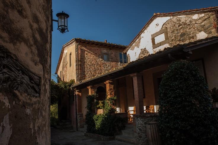 Old World Tuscan Architecture Ilborro Around Il Borro