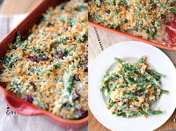 Eat Yourself Skinny » Lightened-Up Green Bean Casserole