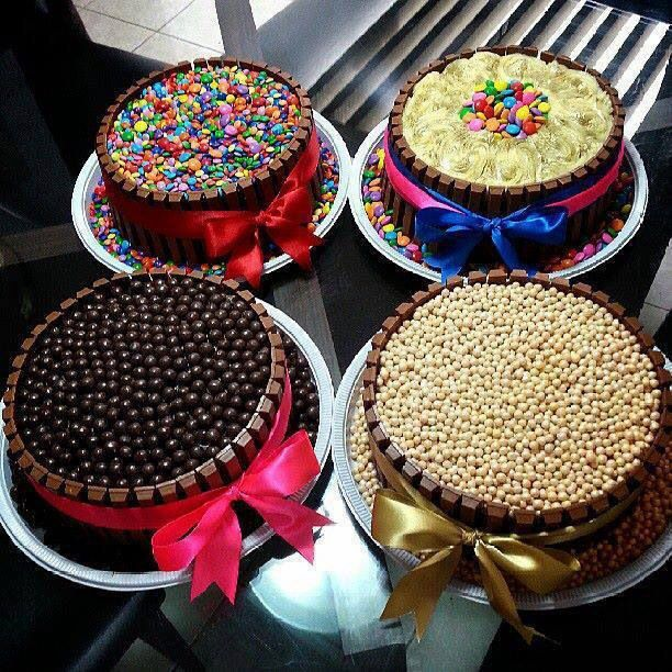 Cute easy cakes cakes pinterest for Cute simple cakes