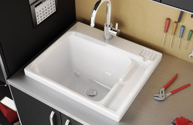 garage sink For the Home Pinterest