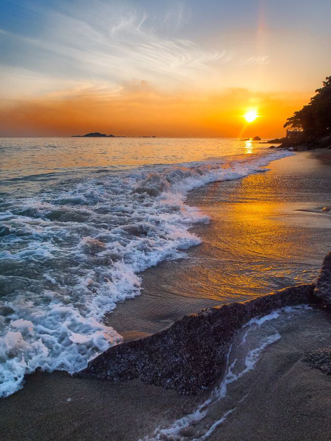 "Penang, Malaysia • ""Sunrise on Penang"" by Paul Emmings on http"