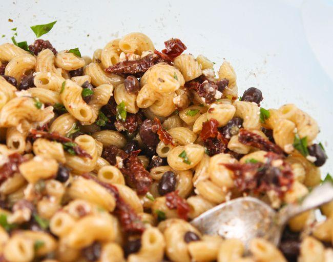Pip & Ebby - Pip & Ebby - Black bean sun-dried tomato pasta salad
