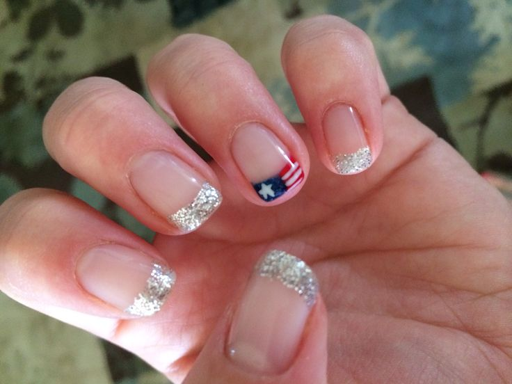 Fourth of July Shellac | Fashion & Nails | Pinterest