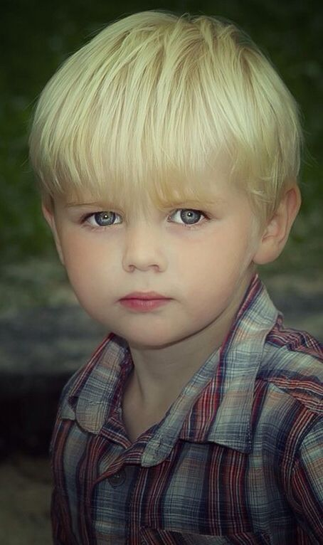 Cute Boy Curly Haired Toddler Stock Images RoyaltyFree