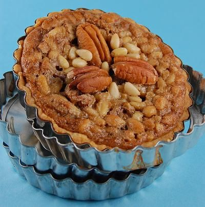 pine nut and pecan tart | Sweets | Pinterest